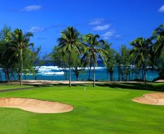 Turtle Bay Golf Course in Oahu, Hawaii I want to play this course! Or any course in Hawaii for that matter! Parc Hotel, Hawaii Resorts, Oahu Hawaii, Hawaii Vacation, Turtle Bay Resort, Golf Course Reviews, Play Golf, Let's Golf, Golf Art
