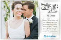 Invisalign Wedding | Smile Down The Aisle  Must have that princess dress!