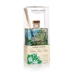 Tahitian Tiare Flower - Yankee Candle Signature Reed Diffuser >>> Details can be found by clicking on the image. (This is an affiliate link) #HomeFragrance