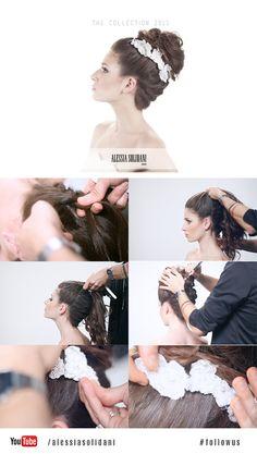 // NUOVA COLLEZIONE SPOSA 2015 // - Alessia Solidani Salon - #shooting #bride #newcollection #white