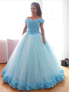 light blue wedding dress,luxurious wedding gowns,bling bling wedding dress,ball gowns wedding dress