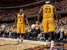 Iman Shumpert and LeBron James revel in a seven game win streak.