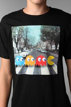 Pac-Man Abbey Road Tee  #UrbanOutfitters