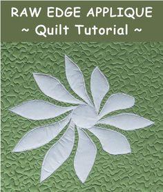 Raw Edge Applique - Quilt Tutorial /Geta's Quilting Studio