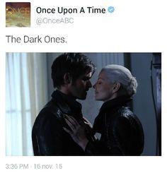 The Dark Ones.  #DarkSwan #DarkHook
