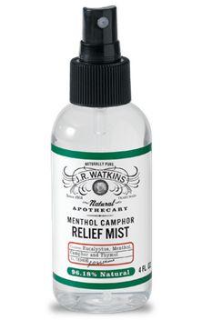 Menthol Camphor Relief Mist is a must in your wellness toolbox. #naturalmedicine #jrwatkins #wellness www.jrwatkins.com