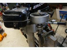 5-6 HP British Seagull Long Shaft Outboard Engine (I-51492)