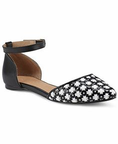 Shellys London Chenawiel Two Piece Flats