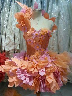 Paper dress by me n yoyong team