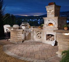Outdoor Fireplaces And Kitchens | Design | Installation | Creative Spaces  Of Rochester | Creative Spaces · Outdoor Pizza OvensOutdoor ...