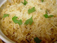 Vegetarian Slow Cooker: Parmesan Risotto