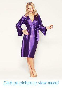 c974bf9490 Adogirl 2018 Latest Classic Black Lace Trim Satin Robe Women Sleek Sexy  Lingerie Cardigan Sashes Nightdress Feminine Sleepwear