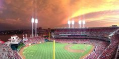 Amazing view of Great American Ballpark!