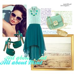 All about Mint, created by chi-doan on Polyvore