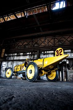 Marmon Wasp Replica built by Honest Charley Garage (The most authentic replica of the winning car from the inaugural Indianapolis 500, held in 1911).