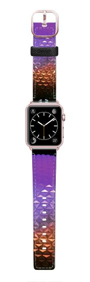 Casetify Apple Watch Band (42mm) Saffiano Leather Watch Band - Sphere by CJ