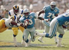 The most exciting running back to ever play in the NFL, Barry Sanders Football 24, Detroit Lions Football, American Football League, Detroit Sports, American Sports, National Football League, Football Uniforms, School Football, Football Season