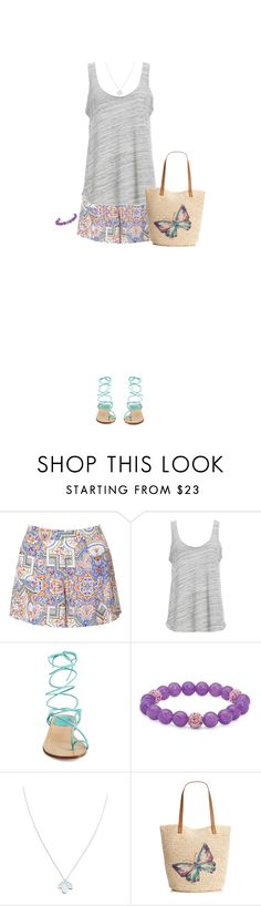"""""""Butterfly fly"""" by blueeyed-dreamer ❤ liked on Polyvore featuring Glamorous, Project Social T, Stuart Weitzman, Palm Beach Jewelry, Wolf & Moon and Style & Co."""