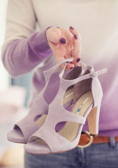 Butiksofie features Boden Eva Heels and Dip Dye Cashmere. March 2015.