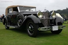 1930 Mercedes-Benz 770K Cabriolet Limousine body by Voll & Ruhrbeck.
