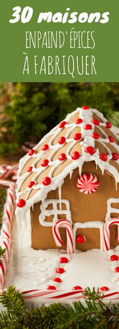 30 maisons en pain d'épices à fabriquer ! Xmas Food, Christmas Desserts, Christmas Baking, Christmas Cookies, Christmas Mood, Holiday, Best Sweets, Kinds Of Cookies, Gingerbread