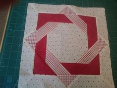 First block in new quilt