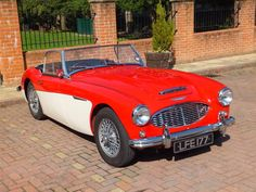 austin healey 1957 red - Google Search