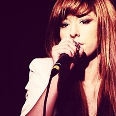 Christina Grimmie on The Voice. Love this picture!