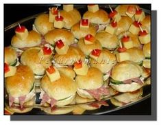 Appetizers For Party, Hot Dog Buns, Bagel, Hamburger, Sushi, Sandwiches, Bread, Ethnic Recipes, Food