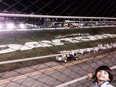 We love this big grin at Daytona International Speedway!