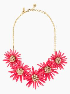 kate spade's field day statement necklace