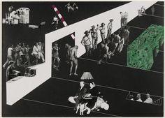 Exodus, or the voluntary prisoners of architecture. Rem Koolhaas, Madelon Vreisendorp, Elia Zenghelis, and Zoe Zenghelis (1972)