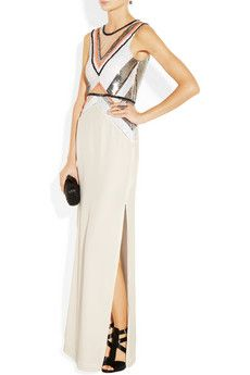 Sass & bide- Any Given Friday embellished silk gown 870$