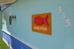 Honeyfish's villa sign on #AnnaMariaIsland