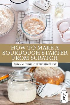 Learn how to easily make a sourdough starter from scratch to use in recipes like pancakes, waffles, muffins, and more. Then learn how to know when your starter is strong enough to bake a loaf of bread. Cheap Meals, Cheap Recipes, Do It Yourself Inspiration, Sourdough Recipes, Pancakes And Waffles, Survival Food, Healthy Baking, Healthy Recipes, Fermented Foods