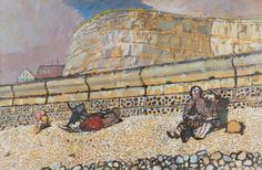 Ruskin Spear BBC - Your Paintings - Spring at Rottingdean, East Sussex