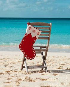 Christmas at the #Beach. #Coastal                                                                                                                                                                                 More