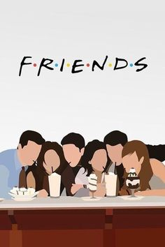 Friends Serial Minimalist Poster Art Print by Lab No 4 The Quotography Department. All prints are professionally printed, packaged, and shipped within 3 - 4 business days. Tv: Friends, Friends Tv Show, Chandler Friends, Friends Series, Friends Image, Minimalist Poster Design, Minimal Poster, Poster Minimalista, Friends Poster