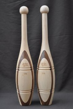 BESTSELLER! 2lb Walnut/Maple Indian Clubs with Tr... $112.00