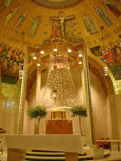 Tabernacle in the Shrine of the Immaculate Conception