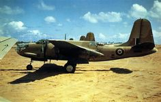 Douglas Boston aircraft of the South African Air Force in North Africa in Ww2 Aircraft, Military Aircraft, South African Air Force, Ww2 Pictures, Ww2 Planes, United States Army, Wwii, Fighter Jets, Boston