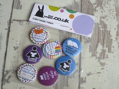 Have you checked out our school badges yet? We hand make our badges in the UK and they are ideal for teachers to give out to their students. Custom Badges, Custom Buttons, Hen Party Badges, Wedding Badges, Badge Maker, School Badges, Birthday Badge, Geek Games, Badge Design