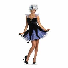Ursula Costume (easy to dance in)