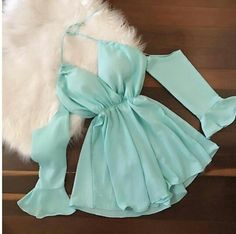Image in moda collection by Zharith paulet B. Teen Fashion Outfits, Mode Outfits, Girly Outfits, Pretty Outfits, Pretty Dresses, Girl Fashion, Fashion Dresses, Cute Summer Outfits, Cute Casual Outfits