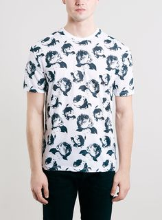 FLORAL NYC CREW NECK T-SHIRT