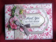 Anna Griffin TY cards #1 by ChaosMom - Cards and Paper Crafts at Splitcoaststampers