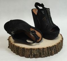 Not Rated Forrest Black Wedge from Trendy Image Boutique And Monogramming