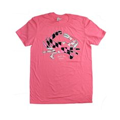 (Photo Credit: RouteOneApparel ©) Maryland Flag Crab Pink Shirt @ BookHolders for $21.50 Breast Cancer Awareness, Maryland, Photo Credit, Mens Tops, Pink, Flag, Shirts, Stuff To Buy, Fashion