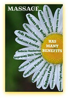 Massage has so many benefits