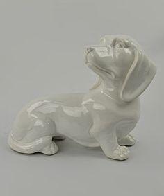 Another great find on #zulily! Ceramic Dachshund Statue #zulilyfinds
